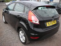 USED 2015 65 FORD FIESTA 1.2 ZETEC 5d 81 BHP Cat C