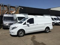 USED 2015 15 MERCEDES-BENZ VITO 1.6 111CDI LONG 114BHP NEW SHAPE. LOW 34,000 MILES. 1 OWNER SENSORS. FINANCE. COLOUR CODED. PX WELCOME. CHOICE OF VANS.
