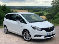 USED 2017 17 VAUXHALL ZAFIRA TOURER 1.4 SRI 5d AUTO 138 BHP NEW 2017 MODEL.