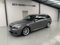 USED 2010 10 BMW 5 SERIES 2.0 520D M SPORT BUSINESS EDITION TOURING 5d AUTO 175 BHP 1 previous owner!