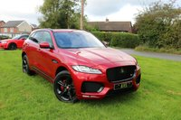 USED 2017 17 JAGUAR F-PACE 3.0 V6 S AWD 5d AUTO 375 BHP 1 OWNER F PACE SUPERCHARGED 380 HP PETROL, 19K MILES FULL JAGUAR HISTORY VERY HIGH SPECIFACATION