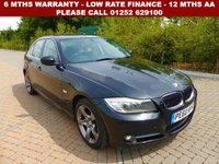 USED 2010 60 BMW 3 SERIES 2.0 320D EXCLUSIVE EDITION 4d 181 BHP All retail cars sold are fully prepared and include - Oil & filter service, 6 months warranty, minimum 6 months Mot, 12 months AA breakdown cover, HPI vehicle check assuring you that your new vehicle will have no registered accident claims reported, or any outstanding finance, Government VOSA Mot mileage check. Because we are an AA approved dealer, all our vehicles come with free AA breakdown cover and a free AA history check.. Low rate finance available. Up to 3 years warranty available.