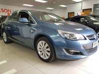 2013 VAUXHALL ASTRA 2.0 ELITE CDTI S/S 5d+HEATED LEATHER SEATS+BLUETOOTH+AUX+USB £3990.00