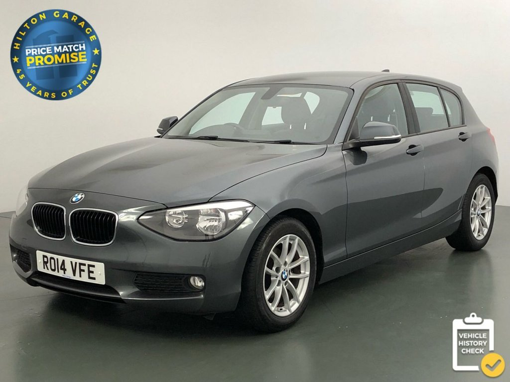 USED 2014 14 BMW 1 SERIES 1.6 116D EFFICIENTDYNAMICS BUSINESS 5d 114 BHP