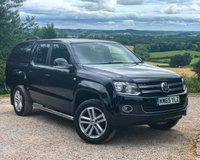 USED 2015 65 VOLKSWAGEN AMAROK 2.0 DC TDI HIGHLINE 4MOTION 1d 178 BHP