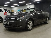 USED 2010 59 VAUXHALL ASTRA 1.6 TWIN TOP SPORT 3d 114 BHP