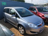 2008 VAUXHALL ZAFIRA 1.6 EXCLUSIV 5d 105 BHP Sold By Us Once Before  £2695.00