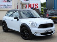 USED 2013 63 MINI COUNTRYMAN 1.6 COOPER D 5d 112 BHP SAT NAV | PARKING SENSORS | BLUETOOTH