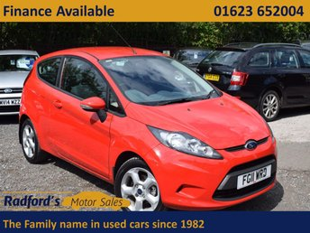 2011 FORD FIESTA 1.2 EDGE 3d 81 BHP £4695.00