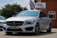2015 MERCEDES-BENZ CLA 2.1 CLA220 CDI AMG SPORT 4d 170 BHP £13995.00