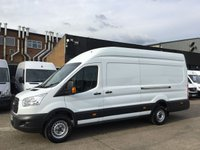 USED 2015 65 FORD TRANSIT 2.2TDCI T350 LWB JUMBO L4 HIGH ROOF 125BHP LOW 55K. FINANCE.  LOW 55K MILES. FINANCE. WARRANTY. CHOICE OF 5. PX