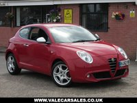 USED 2012 62 ALFA ROMEO MITO 1.4 TB MULTIAIR DISTINCTIVE (GREAT SPEC) 3dr GREAT SPEC WITH BLUETOOTH + LOW MILEAGE