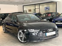 USED 2015 65 AUDI A7 3.0 SPORTBACK TDI QUATTRO BLACK ED 5d AUTO 268 BHP +FACELIFT MODEL+HEAD-UP+BOSE+