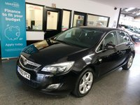 USED 2010 60 VAUXHALL ASTRA 1.6 SRI 5d 113 BHP This Astra SRi is finished in Metallic Black Sapphire with Black cloth sports seats. It is fitted with power steering, remote locking, electric windows and mirrors, cold air conditioning, park assist, cruise control,  CD Stereo, aux port and more. It has had only two owners from new and comes with an exceptional service history consisting of 8 stamps done at Vauxhall and 1 @ an independent garage. It was last serviced in April 2019.