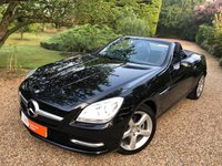 USED 2012 12 MERCEDES-BENZ SLK 1.8 SLK200 BLUEEFFICIENCY 2d 184 BHP SAT NAV HEATED LEATHER SEATS AIR SCARF FULL MERCEDES HISTORY