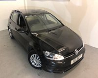 USED 2014 63 VOLKSWAGEN GOLF 1.6 S TDI BLUEMOTION TECHNOLOGY 5d 103 BHP £7999 -£500 Min part ex-bal to pay £7499 2014 Registered Volkswagen Golf 1.6 TDi Bluemotion Technology 5 Door Finished In Jet Black With Matching Anthracite Grey Upholstery, Only 53,500 Miles,  Fabulous To Drive With Absolutely Amazing Economy, Zero Rated For Road Tax But Five Star Rated For Safety, Great Specification Including, Air Conditioning,Bluetooth, DAB Digital Radio With Touch Screen, Full Media Connectivity,Trip Computer, Full Electrics Pack And All The Usual VW Safety Features.