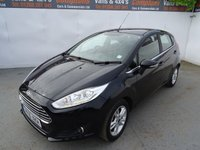 USED 2016 16 FORD FIESTA 1.5 ZETEC TDCI 5d 74 BHP FORD FIESTA ZETEC LOW MILES AIR CON