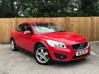 USED 2010 10 VOLVO C30 1.6 D DRIVE SE 3d 109 BHP Full Service History, Bluetooth, Part Leather Interior