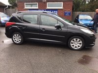 USED 2008 08 PEUGEOT 207 1.4 SW S 5d 94 BHP ESTATE, PREVIOUSLY SUPPLIED BY US