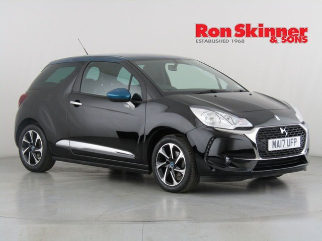 View our 2017 17 DS DS 3 1.2 PURETECH ELEGANCE S/S 3d 109 BHP