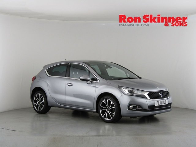 View our 2016 16 DS DS 4 1.6 BLUEHDI PRESTIGE S/S 5d 120 BHP
