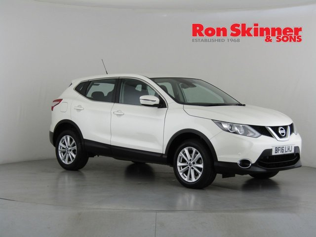 View our 2016 16 NISSAN QASHQAI 1.5 DCI ACENTA SMART VISION 5d 108 BHP