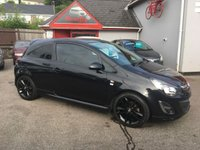 2013 VAUXHALL CORSA 1.2 LIMITED EDITION 3d 83 BHP £4695.00