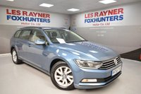 USED 2015 65 VOLKSWAGEN PASSAT 1.6 S TDI BLUEMOTION TECHNOLOGY 5d 119 BHP Full Volkswagen Serivce history, 1 Owner, Cheap tax, Superb MPG