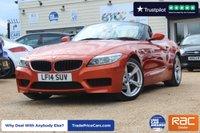 USED 2014 14 BMW Z4 2.0 Z4 SDRIVE20I M SPORT ROADSTER 2d 181 BHP