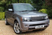USED 2011 61 LAND ROVER RANGE ROVER SPORT 3.0 SDV6 HSE 5d AUTO 255 BHP ** SUPERB VALUE FOR MONEY **