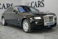USED 2012 12 ROLLS-ROYCE GHOST 6.6 V12 EWB 4d AUTO 564 BHP