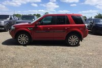 USED 2014 64 LAND ROVER FREELANDER 2.2 SD4 SE TECH 5d AUTO 190 BHP STUNNING FIRENZY RED PAINT WORK, EBONY LEATHER INTERIOR, HEATED SEATS, ALLOY WHEELS, PARKING SENSORS, SAT NAV, CRUISE CONTROL, PRIVACY GLASS, DAB RADIO, 1 OWNER, SERVICE HISTORY, STUNNING 4X4