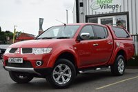 USED 2012 62 MITSUBISHI L200 2.5 DI-D 4X4 BARBARIAN LB DCB 1d 175 BHP LOW MILEAGE CAR WITH NO VAT TO PAY!