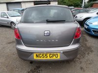 USED 2005 55 SEAT TOLEDO 1.6 REFERENCE 5d 101 BHP