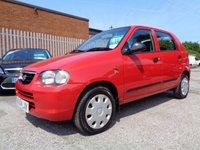 2004 SUZUKI ALTO 1.1 GL 5d 62 BHP £1095.00