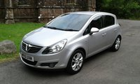 USED 2010 10 VAUXHALL CORSA 1.4 SXI A/C 5d 98 BHP **ZERO DEPOSIT FINANCE AVAILABLE** PART EXCHANGE WELCOME