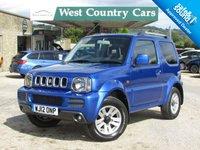 USED 2012 12 SUZUKI JIMNY 1.3 SZ4 3d AUTO 85 BHP Low Mileage Petrol 4X4