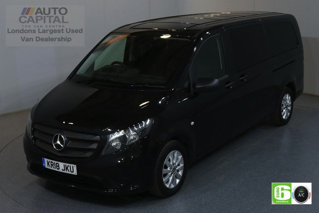 2018 18 MERCEDES-BENZ VITO 2.1 114 BLUETEC TOURER SELECT 136 BHP AUTO EURO 6 AIR CON 9 SEATS MINIBUS MANUFACTURER WARRANTY UNTIL 29/04/2021