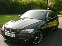 USED 2010 60 BMW 3 SERIES 2.0 320D SPORT PLUS EDITION 4d 181 BHP M SPORT BODY STYLING STUNNING IN BLACK SPORT PLUS EDITION