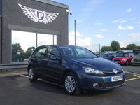 USED 2012 12 VOLKSWAGEN GOLF 1.6 MATCH TDI BLUEMOTION TECHNOLOGY 5d 103 BHP MOT AND SERVICE AND WARRANTY INCLUDED