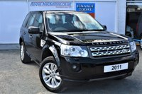 USED 2011 11 LAND ROVER FREELANDER 2 2.2 SD4 HSE 5d AUTO 4x4 Family SUV March 2011 11 Plate Car ** LOW MILEAGE FOR AGE**