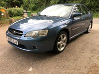 2005 SUBARU LEGACY 2.5 SE AWD 4d 165 BHP £3000.00