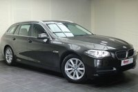 "USED 2014 14 BMW 5 SERIES 2.0 520D SE TOURING 5d 181 BHP 17""ALLOYS+1 OWNER+LEATHER+PARKING SENSORS+NAV+HEATED SEATS+DAB RADIO+CRUISE CONTROL"