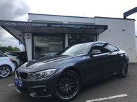 2015 BMW 4 SERIES 2.0 420D XDRIVE M SPORT GRAN COUPE AUTO  £16750.00