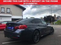 USED 2015 65 BMW 4 SERIES 2.0 420D XDRIVE M SPORT GRAN COUPE AUTO  ****Nav,Xenons,HeatedLeather,Cruise,PowerBoot****