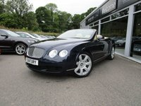 USED 2007 07 BENTLEY CONTINENTAL 6.0 GTC 2d AUTO 550 BHP