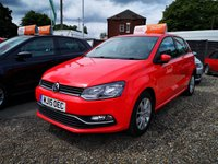 2015 VOLKSWAGEN POLO 1.4 SE TDI BLUEMOTION 5d 74 BHP £6700.00