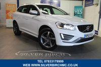 USED 2013 63 VOLVO XC60 2.4 D5 R-DESIGN LUX NAV AWD 5d AUTO 212 BHP Family Pack, Navigation HFS
