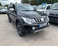USED 2016 16 MITSUBISHI L200 DI-D 4X4 BARBARIAN DCB UPGRADED ALLOY WHEELS