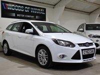 USED 2012 62 FORD FOCUS 1.6 TITANIUM 5d AUTO 124 BHP